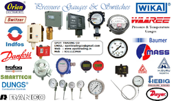 Pressure / Temperature Gauges, Switches, Transmitters