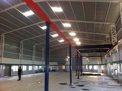 industrial commercial trusses shed