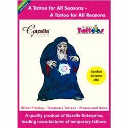 Scary Wizard Tattoo