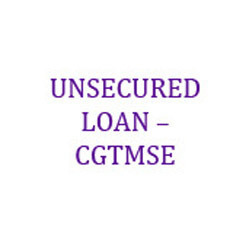 Unsecured Loan - CGTMSE