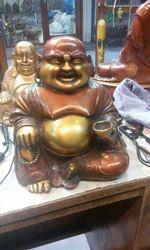 Laughing Buddha Brass