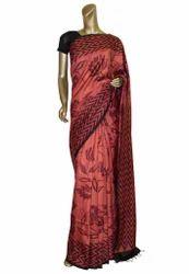 Red Color Handloom Silk Sarees