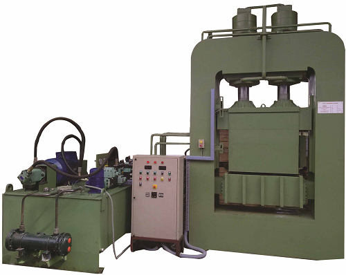 Coir Dust Briquetting Press
