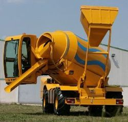 Self Loading Concrete Mixer Rental Services