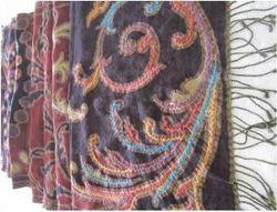Boiled Wool Jamawar Embroidered Shawls