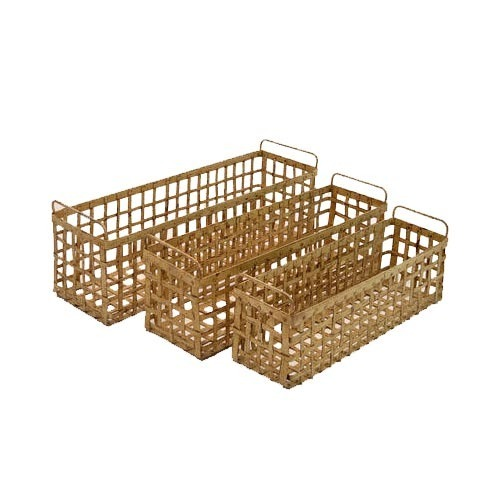 Rectangular Iron Basket
