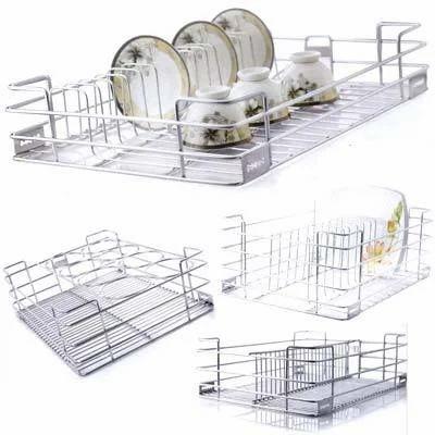 Stainless Steel Modular Kitchen Accessories Rack Manufacturer From New Delhi