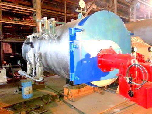 CNG Fired Steam Boiler