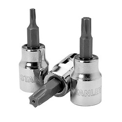 "3/8"" Drive Tamper Proof Torx Bit Sockets"