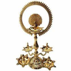 Brass Chakra Diya