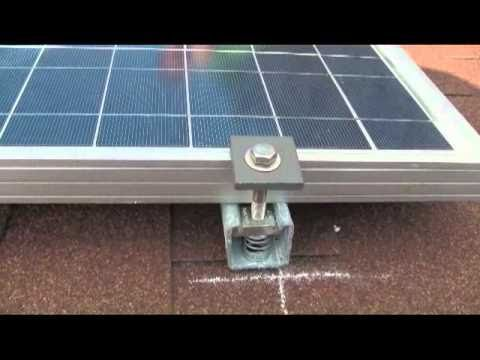End Clamp Amp Mid Clamp Unistrut Solar Panel Clamps