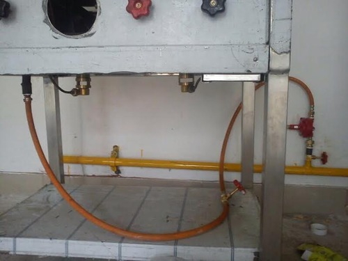 Commercial Kitchen Gas Pipeline Installation