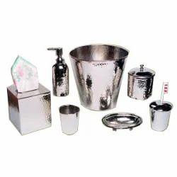 Stainless Steel Bathroom Set