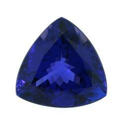 Tanzanite Trillion Cut Loose Gemstone