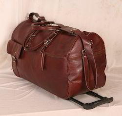 Leather Luggage Trolley Bags ( Product Code: SHIC38)