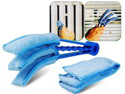 Kawachi Blinds Microfiber Duster Slats Cleaner Window Triple