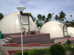 Dome Shaped Prefabricated Structures