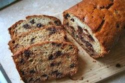 Banana Chocolate Chips Bread