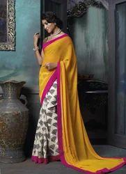 Silky Indian Designer Sarees