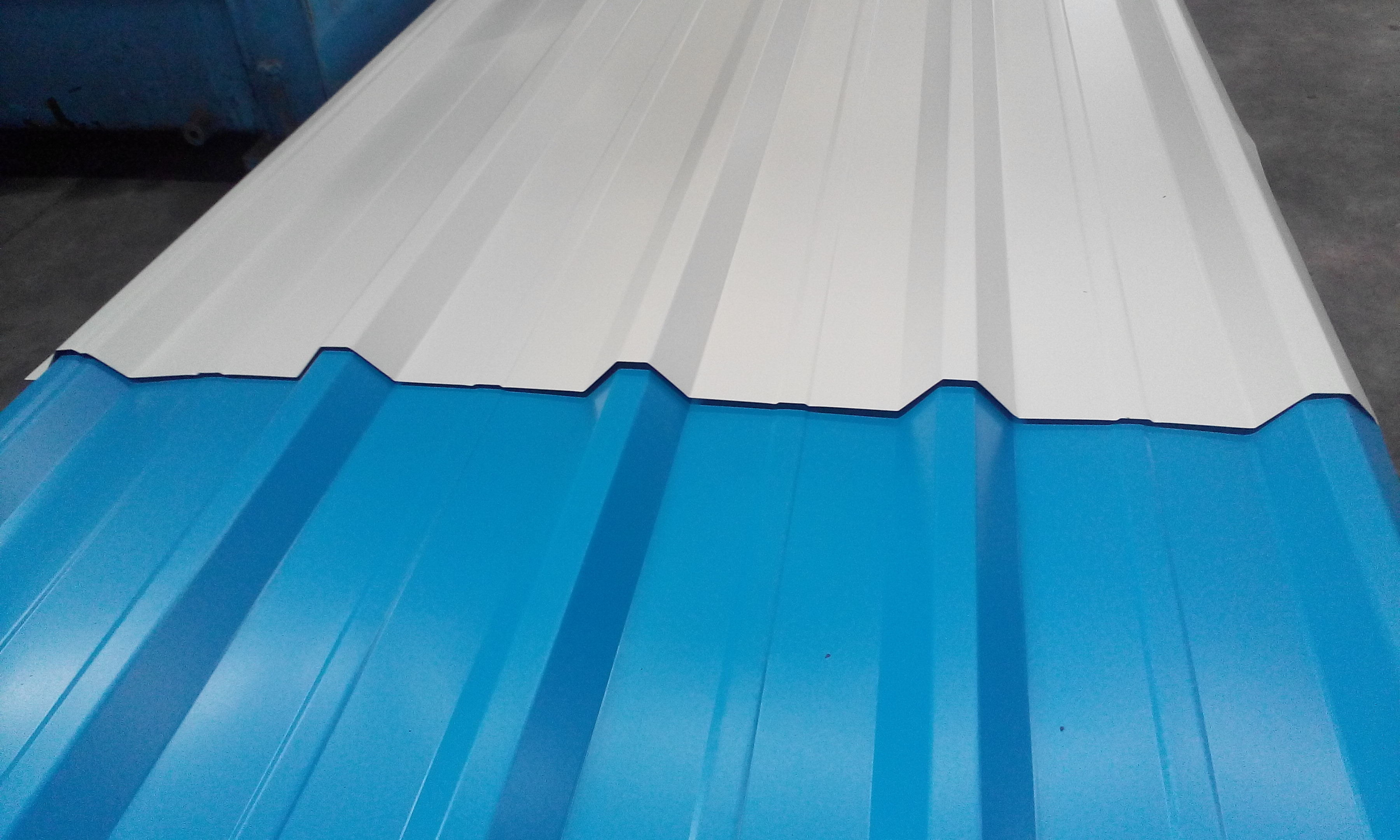 Industrial Roofing Sheets Colour Coated Sheet Jsw Essar