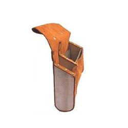 Carpenter Leather Bag with Wooden Support