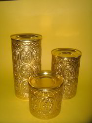 Antique Candle Stand - S/3 ( CS AS - 18 )