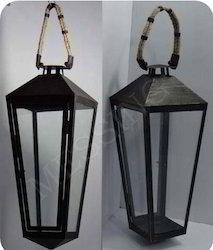 Galvanized Hanging Lantern