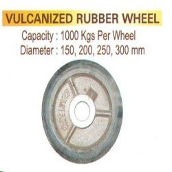 Vulcanized Rubber Wheels