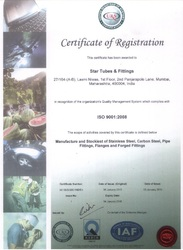NABCB ISO Certificate