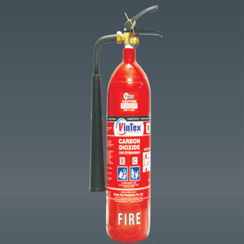 2Kg. CO2 Gas Fire Extinguisher