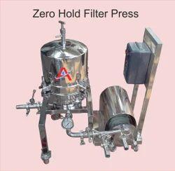 Zero Hold Filter Press