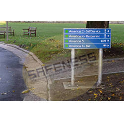 Modular Post Pylon Signs
