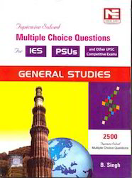 General Studies IES PSU Solved MCQ