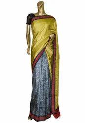 Handloom Designer Matka Saree