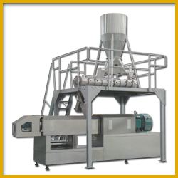 High Capacity Extruder for Soya Nuggets