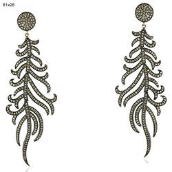 Designer Diamond Dangle Earrings Jewelry