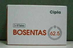 Bosentas 62.5 mg Tablets