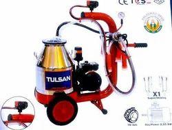 Trolley Model Milking Machine Mini Type Single Bucket