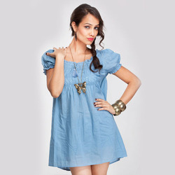 Blue Ladies Tunics