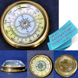 Vintage Looking Collectible Pocket Compass