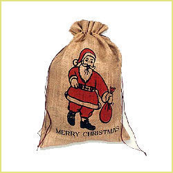 Merry Christmas Printed Bag