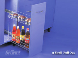 2-Shelf Pull Out