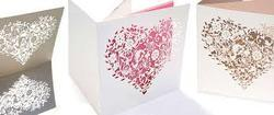 Laser Cut Wedding Card Services