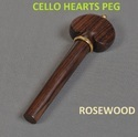Cello Hearts Peg
