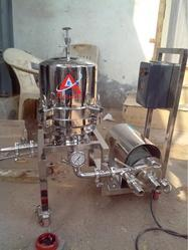 Rose Water Filtration Machine