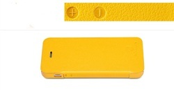 Mobile Leather Fliptop Case For Apple iPhone 5s