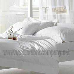 200 tc percale bed linen bed sheet