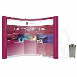4x3 Pop Up Curve (Concave) Display System