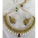 Colorful Kundan Necklace Set