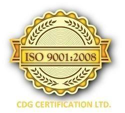[ISO 9001 Accreditation]